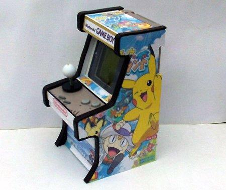 A kicsi és a nagy arcade gép