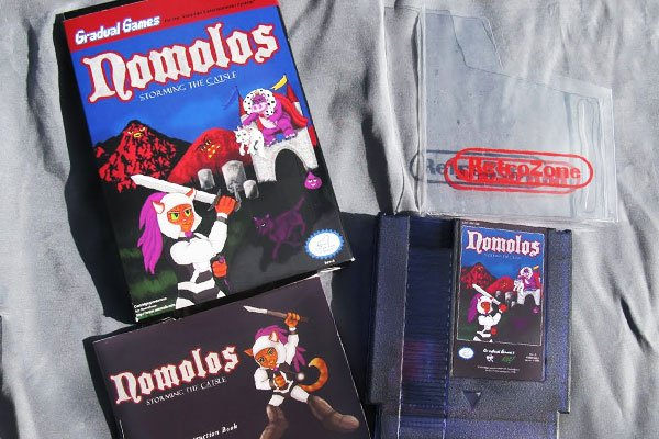 Nomolos: Storming The Castle (NES)