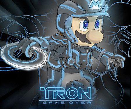 Mario a TRON-ban