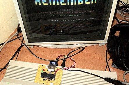 SD2IEC – avagy modern 1541 Floppy