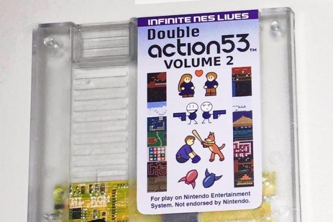16 in 1 Nintendo NES cartridge