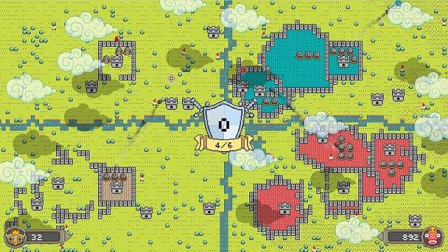 Castle Chaos, a Rampart klón