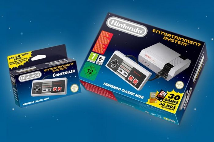 Jön a Nintendo Classic Mini: NES