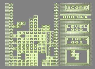 Gameboy Tetris, ezúttal C64-re