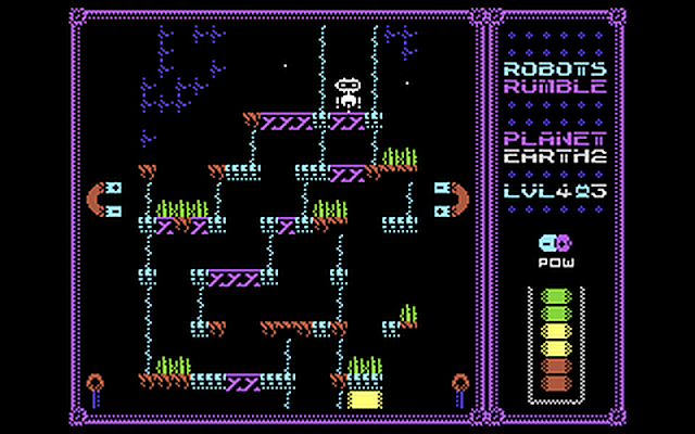 Robots Rumble (C64)