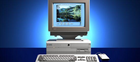 Amiga 4000 bemutató