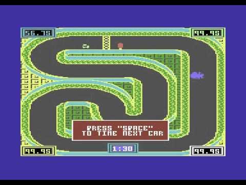 Autós programok C64-re
