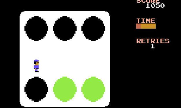 Dice Skater (C64)